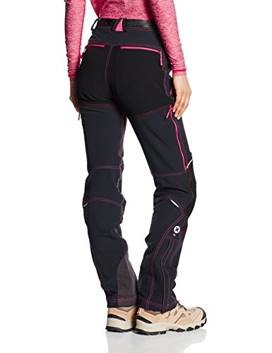 Trango Gethy Pantalon Femme Calabaza/Marron Negro/Rosa Claro