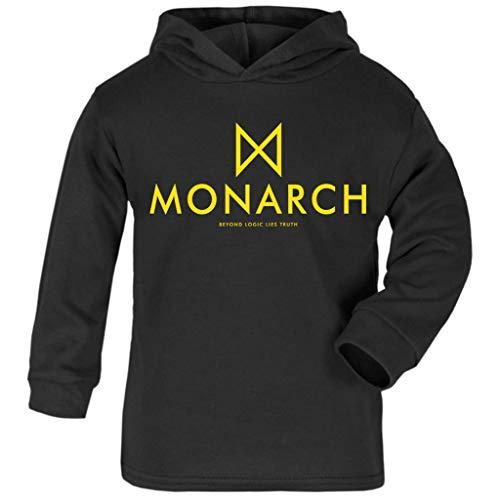 Cloud City 7 Monarch Beyond Logic Lies Truth Godzilla Baby and Kids Hooded Sweatshirt