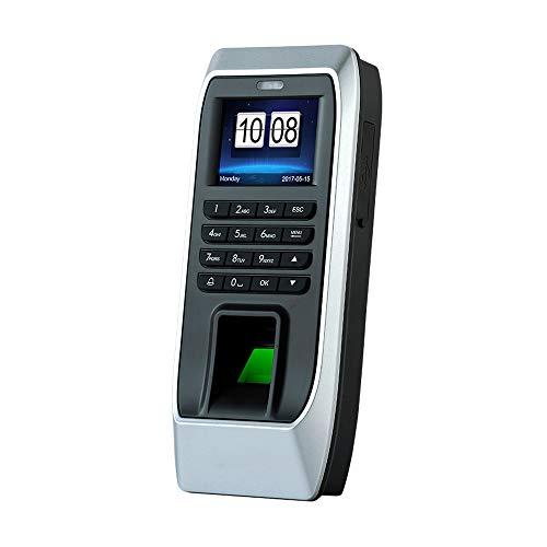 KKmoon Frequenza Presenze Impronta digitale Riconoscimento Password Carta d'identità Apriporta Sistema di controllo accessi Impiegato Check-in Tempo Presenze Macchina per ufficio