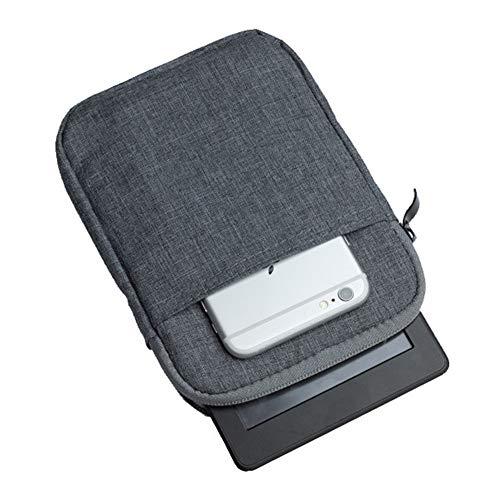 Kindle Paperwhite Hülle Case Filz für Amazon Neue Kindle Paperwhite 1/2/3 und Kindle Fire HD 6 Verschluss Tasche Etui Case mit Zubehörfach,Dunkelgrau