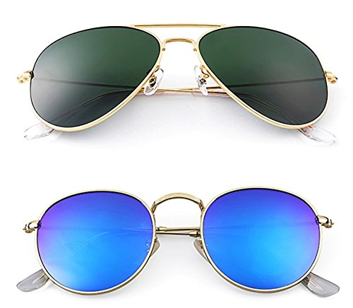 Younky Offers Combo Pack Of 2 Stylish Branded Sunglasses For
