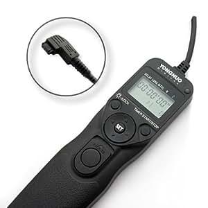 Yongnuo télécommande avec intervallomètre/minuterie Déclencheur à Distance MC-36b/S1 pour Sony Alpha α A100, A200, A300, A350, A700, A900