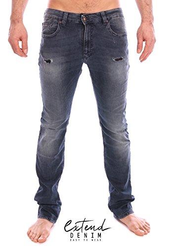 Kaporal Krise-Jeans-Slim-uomo blu XXL