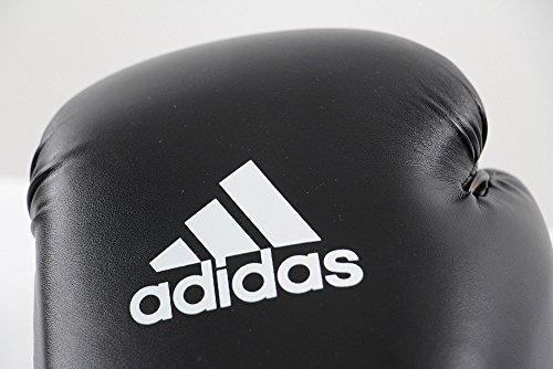 Adidas® Boxhandschuhe Speed 50 schwarz/weiß, 12 Unzen, Box-Handschuhe, Boxhandschuh Glover, Leder Abbildung 2