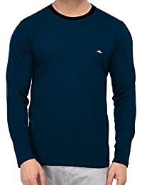 Fenoix Cotton Round Neck Full Sleeve Tshirts For Men