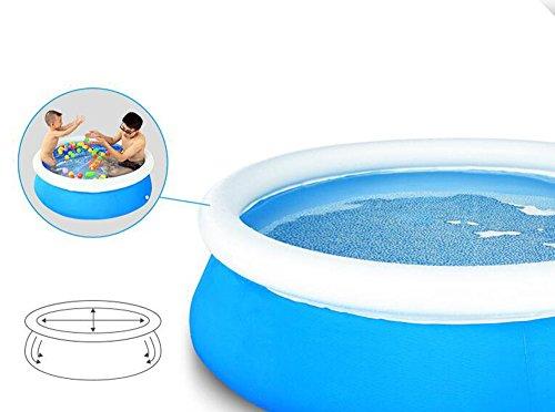 Kind Aufblasbares Schwimmbad Familienpool Spiel Pool