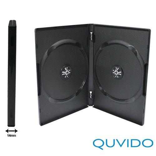 quvido-lot-de-100-etuis-noir-dvd-double-2-cd-dvd-noir-14-mm