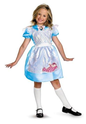 Alice In Wonderland Classic Costume Child (Cheshire Kostüm Kid Cat)