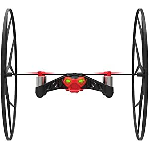 Parrot Minidrones Rolling Spider Drone, Rosso/Nero