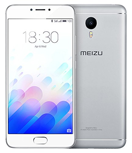 "Meizu M3 Note - Smartphone (5.5"", cámara 13 MP, 2 GB RAM, 16 GB, Android), color blanco y plata"