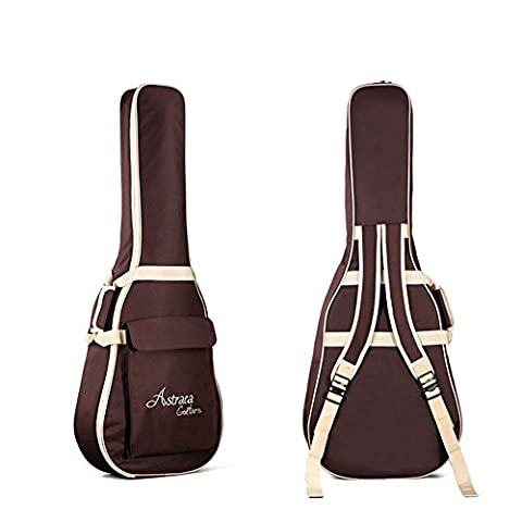 Oxford étui épais en nylon gig bag housse de transport rembourrée pour guitare acoustique et guitare classique, étanche et résistant aux