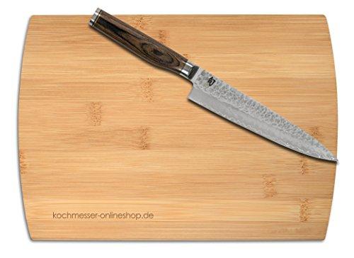 KAI SHUN Premier Tim Mälzer Allzweckmesser 16,5cm, inkl. Schneidbrett 28 x 20 cm, TDM-1701