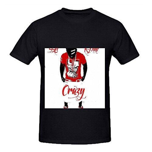 Crazy K-Nine MenCrew Neck Tee Sport Large