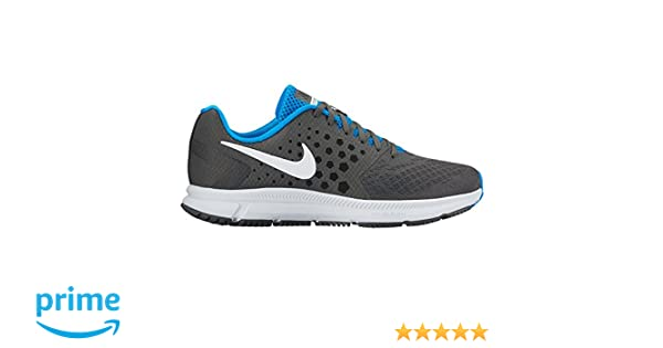 011e035d471df9 Nike New Men's Air Zoom Span Running Shoe Grey/Photo Blue 8: Buy Online at  Low Prices in India - Amazon.in