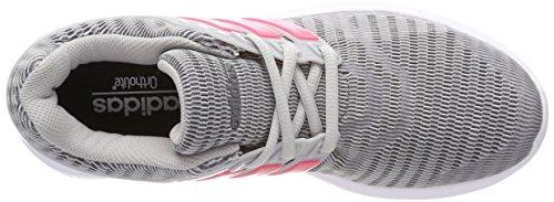 adidas Damen Energy Cloud V Laufschuhe, EU Mehrfarbig (Ftwr Wht/real Pink S18/grey Two F17)