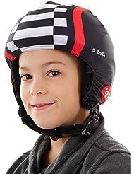 Barts Helmüberzug Helmcover Schutzhülle schwarz Auto elastisch aktuell Gr.one-size 160205001