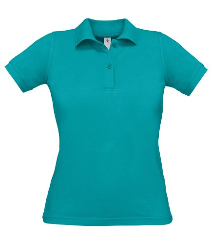 B&C Safran - Polo - Femme Real Turquoise