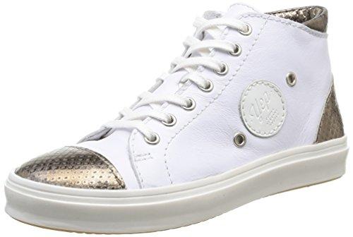 Yep by Jonak Bertille - Zapatos para Niñas, Color Beige (Laminée Taupe), Talla 34