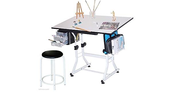 A1 tavolo da disegno e sgabello regolabile per disegno tecnico con