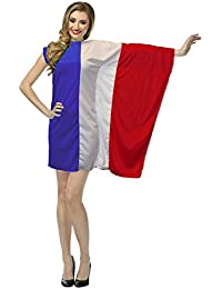 The Dragons Den Ladies French Flag Fancy Dress St Denis Day France Costume