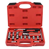 17PCS Fuel Engine Injector Seat Cutter Set Carbon Decarbonise Cleaning Injectors Changing Auto Car Repair Tool Garage