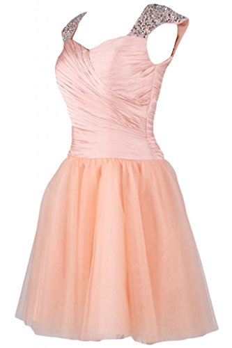 Sunvary Graceful corte abito A-line Homecoming vestiti Pageant, motivo: Gown Pink