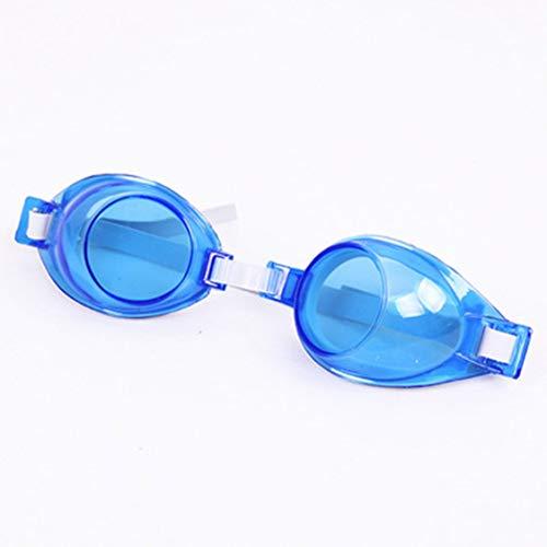 Vige Einstellbare Winddicht wasserdicht Anti Fog Cartoon UV-Schutz Schwimmen Brillen Brille Brille für Kinder Kinder Jugendliche - blau