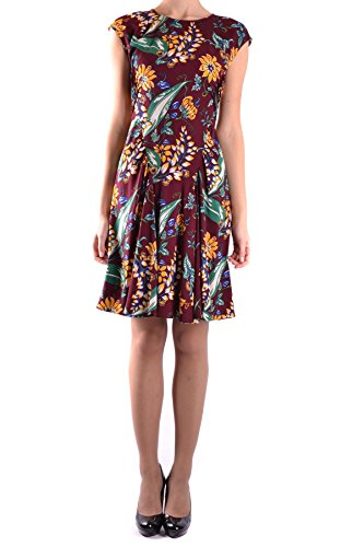 Prada Damen Mcbi244037o Multicolour Seide Kleid
