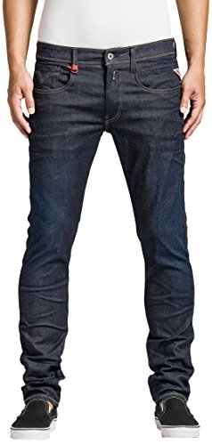 Replay - Anbass, Jeans Uomo, Blu (Blue Denim 519-7), W36/L34