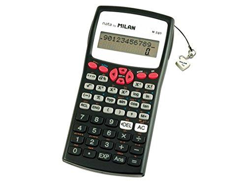 Kalkulator Milan naukowy 240 funkcji czerwony