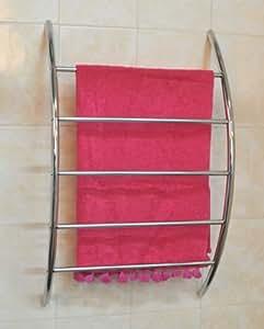 porte serviettes mural chrom salle de bain toilettes cuisine maison. Black Bedroom Furniture Sets. Home Design Ideas