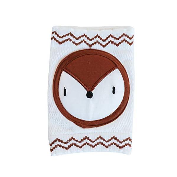 puseky 1 par de Rodilleras para Bebés Unisex Algodón Transpirable Calentador de Piernas Cubierta Protectora de Seguridad… 1