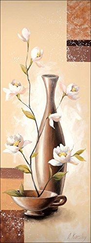 pro-art-ok226l5-wandbild-canvas-art-evergreen-i-27-x-77-cm
