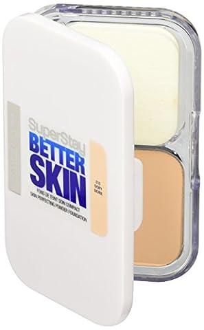Maybelline Superstay Better Skin Powder Foundation (010 Ivory) 9gr