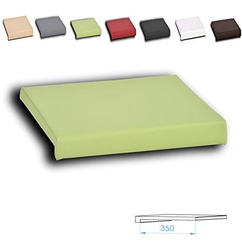 Klemmkissen Sitzkissen 1 Leiste versch. Farben (grün)