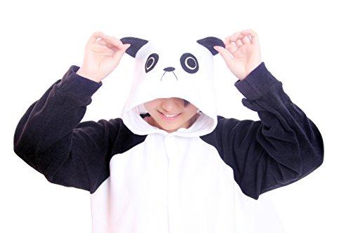 Re-Miss Panda Cosplay Pyjamas Schlafende Kleidung Kigurumi fuer Fancy Dress & Periode Kostüme Halloween Weihnachten (Halloween Kostüme Periode)