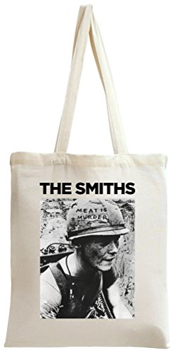The Smiths Meat Is Murder French Album Cover Tote Bag