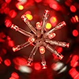Guirlande lumineuse 300 LED CT 18 m Rouge