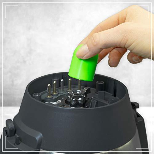 coolina® Teig-Ex Accessoire pour récupérer la pâte pour Monsieur Cuisine Connect, couleur: vert gecko
