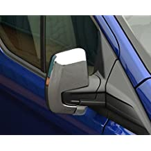 Juego de cubiertas para espejo retrovisor cromado para adaptarse a Transit Custom (2012 +)