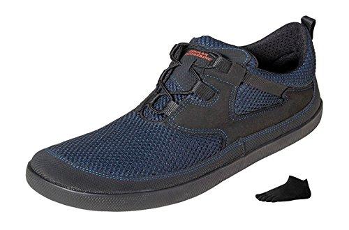 Sole Runner Pure 3 + Zehensocke 11005, Size:43;Color Blue/Black