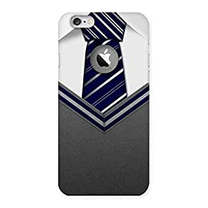 Goosbery Grey Uniform Back Cover Logo Cut For Apple Iphone 6/6S