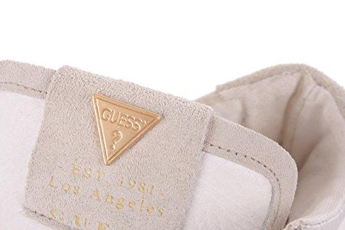 Guess Donna Sneaker Allacciata Boots Blanco / Beige