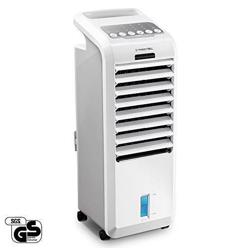 TROTEC PAE 26 Aircooler | Mobiles Klimagerät | 4-in-1 Luftkühler: Luftkühlung, Luftbefeuchtung, Ventilation, Lufterfrischung | 3 Gebläsestufen