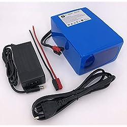 12V 40Ah 480Wh Akkupack Pedelec E-Bike ebike Golftrolley Akku Lithium-Ionen Batterie Battery incl. BMS + Ladegerät