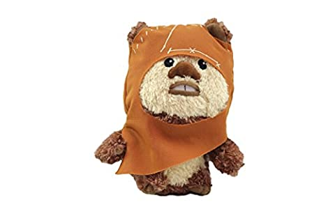 Comic Image - pelstw011 - Jouet de Premier Age - Star Wars - Super Deformed 6 Inch Plush - Wicket