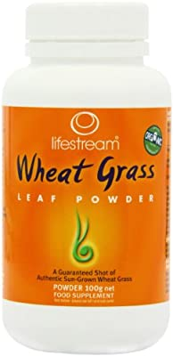 Lifestream Wheat Grass Powder 100g (Organic) from Lifestream