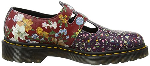 Dr. Martens Damen 8065 Fc Mary Jane Halbschuhe, Multi Mehrfarbig (Multi Floral Mix Backhand)