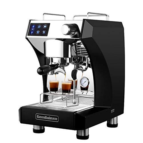 KOUDAG Macchina caffè Macchina per caffè Professionale Macchina per caffè Espresso semiautomatica Macchina per caffè con Pompa per montalatte 3000w 9Bar / 15Bar