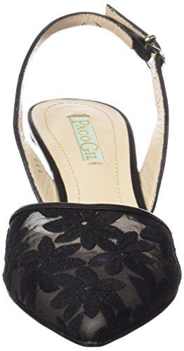 Paco Gil P2858 - Scarpe con Tacco Donna Nero (Nero (nero))